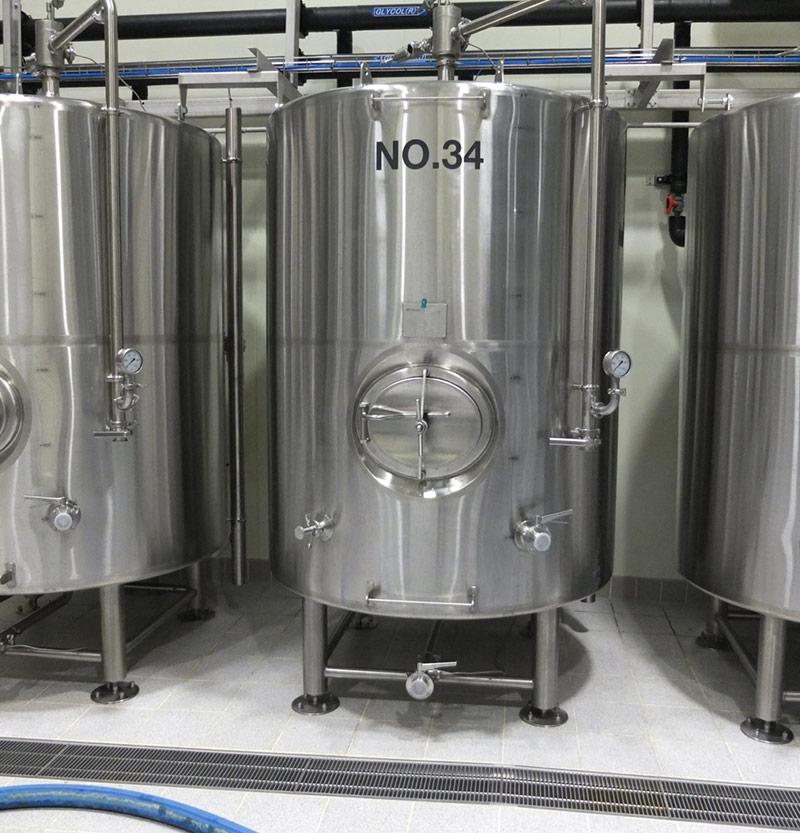 熟成タンク/貯蔵タンク/ブライトビールタンク