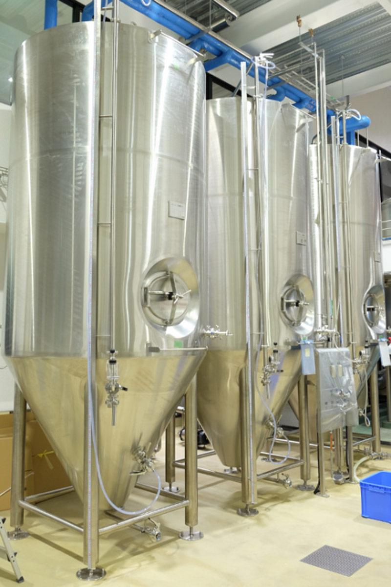 発酵タンク‐コニカルタイプ