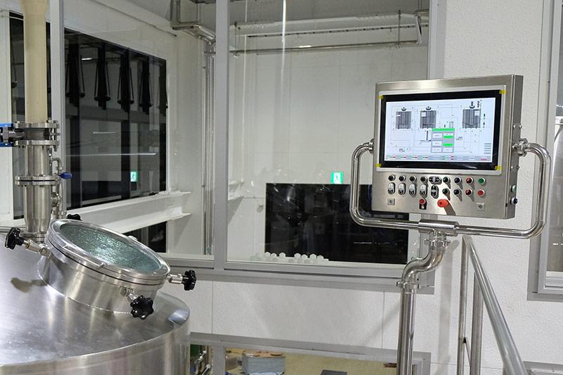 BET工場用仕込設備の特徴